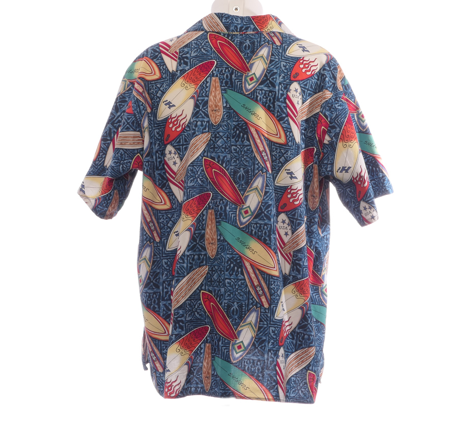 Hawaii skjorte Øl i solnedgang | Velouria Vintage