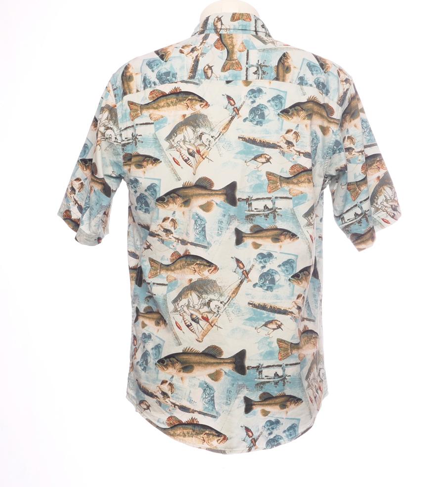 HAWAII SKJORTE GO FISHING