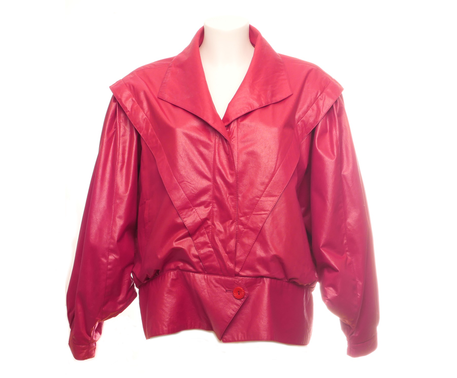 Skinnjakke Rød blazer   Velouria Vintage